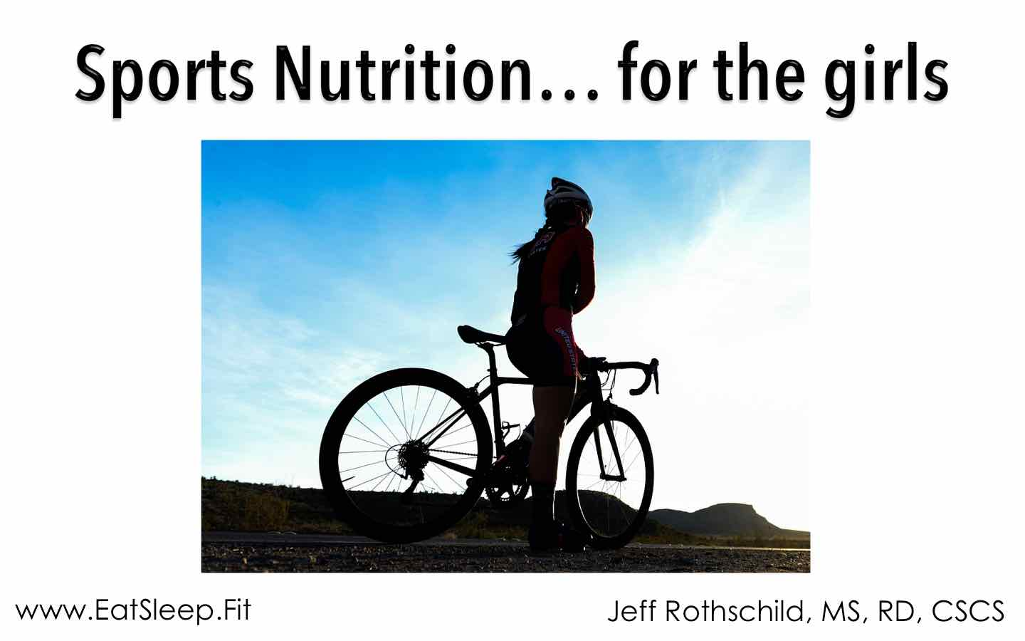 Female Sports Nutrition – lecture highlights